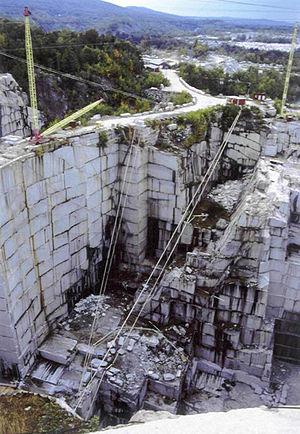 Barre Granite - The E. L. Smith Quarry, where the Barre Granite is mined