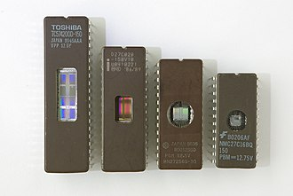 "Dual in-line package - EPROM ICs in 0.6"" wide ceramic DIP-24, DIP-28, DIP-32, DIP-40 packages, also known as CDIP (Ceramic DIP)"