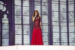 Start a Fire (Dilara Kazimova song) - Image: ESC2014 Azerbaijan 04