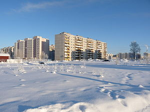 Lasnamäe - Apartment blocks in Priisle