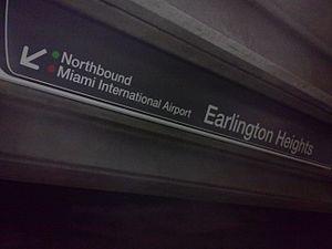 Earlington Heights station