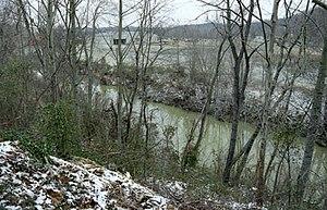 Little Sandy River (Kentucky) - The East Fork of the Little Sandy River at Cannonsburg, Kentucky