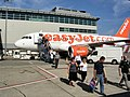 Easyjet A319 @ stand one South Terminal, Gatwick - panoramio.jpg