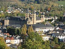 L'Abbazia di Echternach.