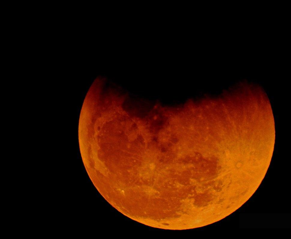 Eclipse and Super blue blood moon 31.01.2018 DSCN9664