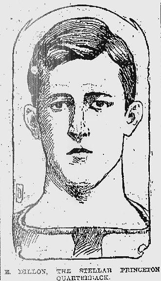 Edward Dillon (American football) - Image: Eddie Dillon