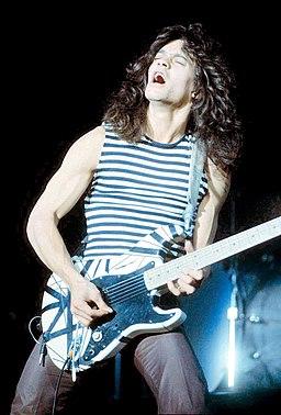 Eddie Van Halen at the New Haven Coliseum