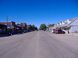 Downtown Edgerton, Minnesota