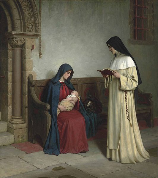 File:Edmund Blair Leighton - Maternity.jpg