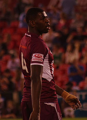 Edrick Lee - Lee playing for the 2012 Under 20s Queensland side