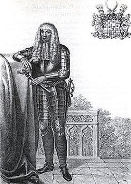 Eduard Fortunat, Baden-Baden, Markgraf