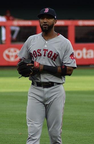 2018 World Series - Eduardo Núñez hit a three-run home run for Boston in the seventh inning.