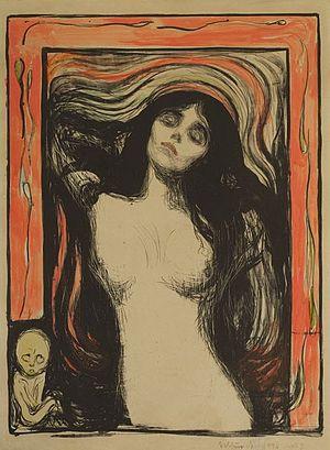 """Footfalls - Munch's """"Madonna"""""""