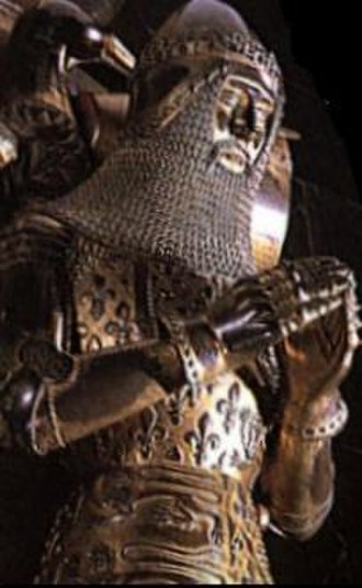 History of the British peerage - Edward, the Black Prince, Duke of Cornwall was the first Duke created in England. Depicted is the effigy above his tomb at Canterbury Cathedral