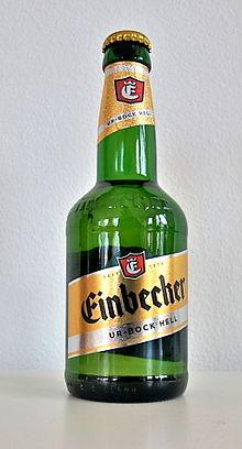 Einbecker Ur-Bock in bottiglia Einbecker