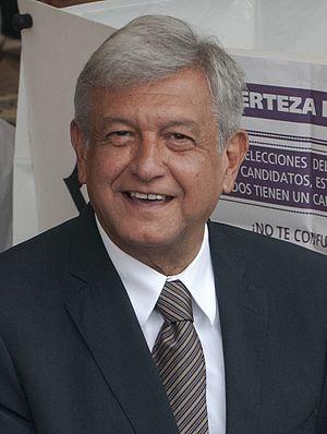 Mexican general election, 2012 - Image: El Voto de AMLO (7479513832) (cropped)