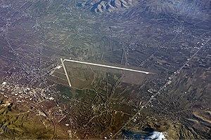 Elazığ Airport - Aerial view of the airport.