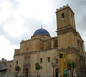 Elche - Basilica of Santa María de Elche.