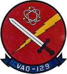 Electronic Attack Squadron 129 (US Navy) insignia 1971.png