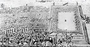Royal elections in Poland - Election of Michał Korybut Wiśniowiecki (Michael I) as King of Poland at Wola, outside Warsaw (1669).