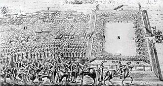 1669 Polish–Lithuanian royal election - Plan of the elective camp.