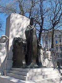 Il monumento all'Imperatrice Elisabetta