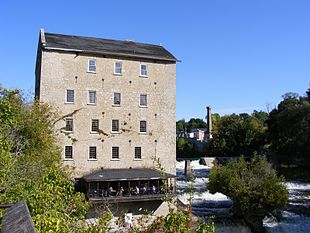 The Old Mill in Elora.
