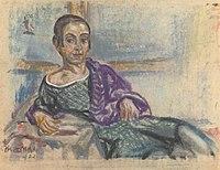Elsa Oeltjen-Kasimir - Ležeči avtoportret.jpg