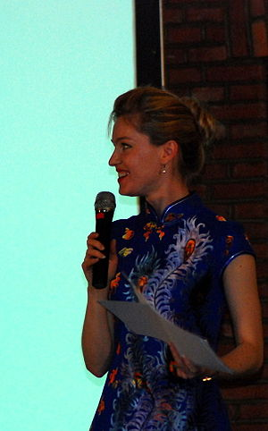 Elyse Ribbons - Elyse Ribbons at TEDxBeijing 2009