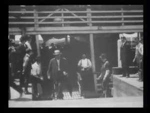File:Emigrants (i.e. immigrants) landing at Ellis Island -.webm
