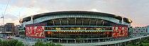 Emirates Stadium east side at dusk.jpg