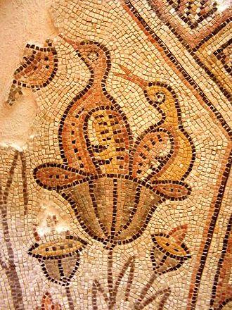 Emmaus Nicopolis - Byzantine mosaic from Emmaus Nicopolis