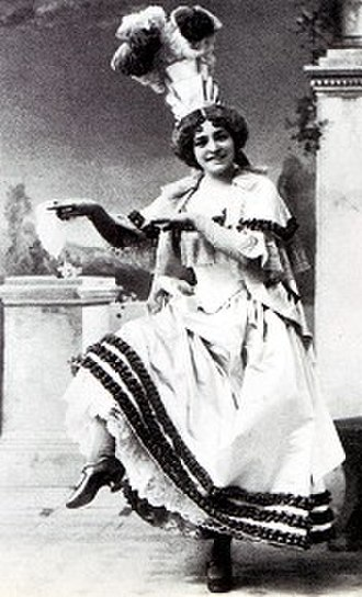 Emmie Owen - Owen as the Princess of Monte Carlo in The Grand Duke