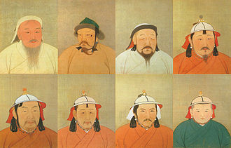 Khagan - 8 of 15 Khagans of the Mongol Empire