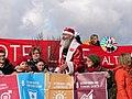 Ende Gelände November 2017 - Activists with Sustaina Claus.jpg