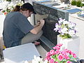 Engraving a Tombstone - Primosten Cemetery - Croatia.jpg