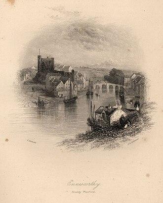 Enniscorthy - Enniscorthy in 1837