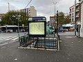 Entrée Station Métro Croix Chavaux Montreuil Seine St Denis 1.jpg