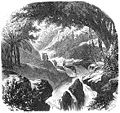 Entry of the cave and river of San Matéo, early 1800s.jpg