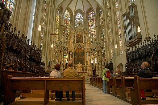 Erfurter Dom (Kandidat für das Welterbe in Thüringen) cathedral chorus 02