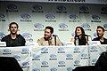 Eric Bana, Edgar Ramirez, Olivia Munn & Joel McHale 2014 WonderCon.jpg