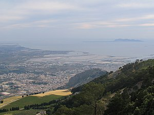 Erice - View of Erice