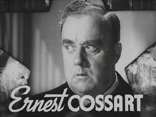 Ernest Cossart English-American actor