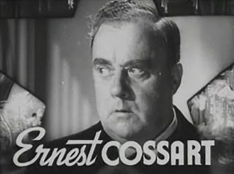 Ernest Cossart - from the trailer for the film The Great Ziegfeld (1936)