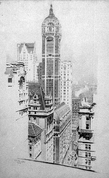 File:Ernest Peixotto, Singer Building, New York, 1909.jpg