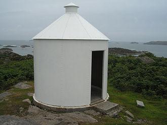 Skerryvore - Erraid observatory looking towards Skerryvore