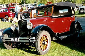 Erskine (automobile) - Erskine Model 50 Touring 1927