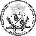 Escudo de la Iglesia Nacional Presbiteriana de Mexico, A.R.jpg