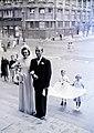 Esküvői fotó, 1948. Fortepan 105474.jpg