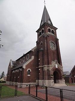 Essigny-le-Grand (Aisne) église Saint-Saulve.JPG